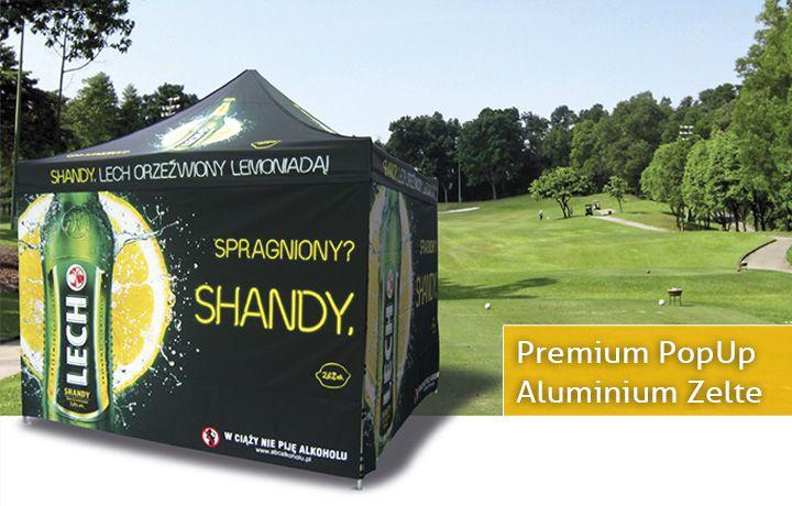 Premium PopUp Aluminium Zelte